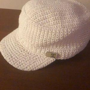 DC Cream Knit Hat